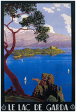 Italy - Lake Garda Travel Promotional Poster Prints