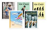 Ian Falconer New Yorker Cover Notecard Set Note Card Sets by Ian Falconer