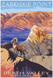 Zabriskie Point - Death Valley National Park Posters