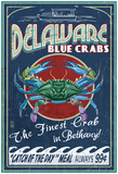 BethaNY, Delaware Blue Crabs Posters