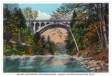 Philadelphia, Pennsylvania - Walnut Lane Bridge Over Wissahickon River Posters