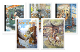 Peter de Sève New Yorker Cover Notecard Set Note Card Sets by Peter de Sève