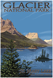 Glacier National Park - St. Mary Lake, C.2009 Prints