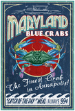 Maryland Blue Crabs - Annapolis Posters