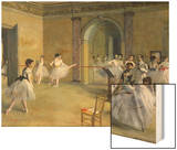 The Dance Foyer at the Opera on the Rue Le Peletier, 1872 Prints by Degas Edgar