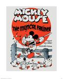 Mickey Mouse - The Musical Farmer Print