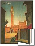 Siena Wood Print
