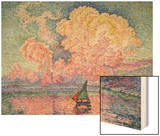 The Pink Cloud (Antibes), 1916 Prints by Paul Signac