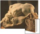 La Danaïde Wood Print by Auguste Rodin