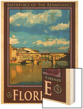 Ponte Vecchio, Florence Italy 1 Wood Print by Anna Siena