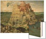 The Tower of Babel, c.1563 Wood Print by Pieter Bruegel the Elder