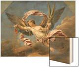 La Fortune ou l'Abondance et la Libéralité Wood Print by Pierre Mignard