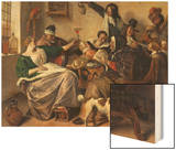 Cheerful Party (The Family of the Painter), about 1657 Art by Jan Havicksz. Steen