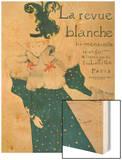 La Revue Blanche, 1895 Wood Print by Henri de Toulouse-Lautrec