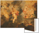The Three Fates Spinning the Destiny of Marie De Medicis, Triumph of Truth Wood Print by Peter Paul Rubens