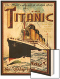 Titanic Wood Print by Kate Ward Thacker