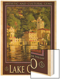 Lake Como Italy 1 Posters by Anna Siena
