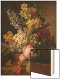 Bouquet Wood Print by Jan Frans van Dael
