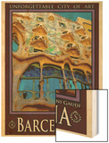 Barcelona Spain 5 Wood Print by Anna Siena