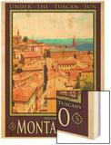 Montalcino Tuscany 1 Wood Print by Anna Siena