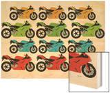 Ducati Wood Print