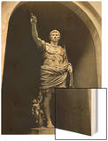 Emperor Augustus in Military Dress, Marble Figure from the Prima Porta Wood Print