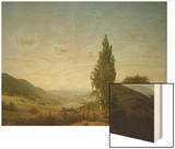 Summer, 1807 Wood Print by Caspar David Friedrich