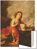 The Infant Saint John the Baptist Wood Print by Bartolome Esteban Murillo