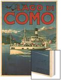 Lago di Como Wood Print