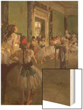 The Dancing Class, circa 1873-76 Prints by Degas Edgar