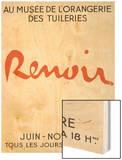 Poster: Renoir Musée De L'Orangerie in the Tuileries Posters