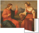 Christ and the Samaritan Woman at the Well, 1796 Art by Angelica Kauffmann