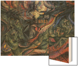 Stage of Mind: The Farewells Wood Sign by Boccioni Umberto