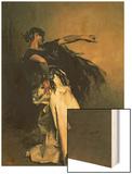 """The Spanish Dancer, Study for """"El Jaleo,"""" 1882 Prints by John Singer Sargent"""