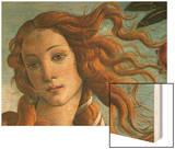 The Birth of Venus (Head of Venus), 1486 Wood Print by Sandro Botticelli