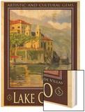 Lake Como Italy 2 Wood Print by Anna Siena