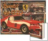 Ferrari 250 Gto Wood Print by Nomi Saki