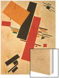 Dynamic Suprematism, 1916 Wood Print by Kasimir Malevich