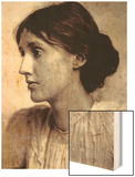 Virginia Woolf, 1902 Wood Print by George Charles Beresford