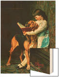 Naughty Boy or Compulsory Education Prints by Briton Riviere
