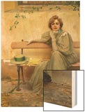 Daydream Wood Print by Vittorio Matteo Corcos