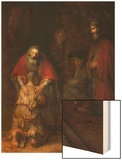 Return of the Prodigal Son, circa 1668-69 Posters by  Rembrandt van Rijn