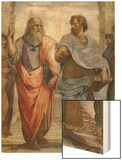 Aristotle and Plato: Detail of School of Athens, 1510-11 (Fresco) (Detail of 472) Posters by  Raphael