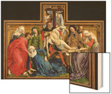 Descent from the Cross, circa 1435 Wood Print by Rogier van der Weyden