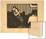 The Lie, 1897-98 Wood Print by Félix Vallotton