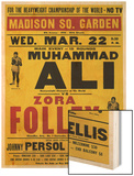 Poster Advertising the Fight Between Muhammad Ali and Zora Folley, Madison Square Garden, 22nd Print