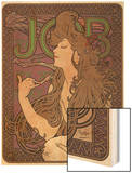 Job, c.1898 Wood Print by Alphonse Mucha