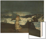 Summer Night, 1890 Wood Print by Homer Winslow