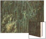 States of Mind: Those Who Stay, 1911 Wood Sign by Boccioni Umberto