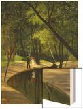 Paysage Du Boulogne, 1919 Wood Print by Félix Vallotton